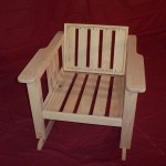 Rea Rocker - Solid Oak Hardwood