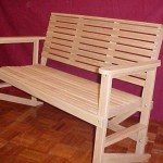 Rea Clinic Bench - Solid Oak Hardwood