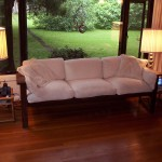 Rea Couch - Solid Oak Hardwood