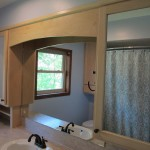 Bailey Custom Solid Maple Upper Mirror Cabinets