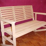 Bench - Natural Finish