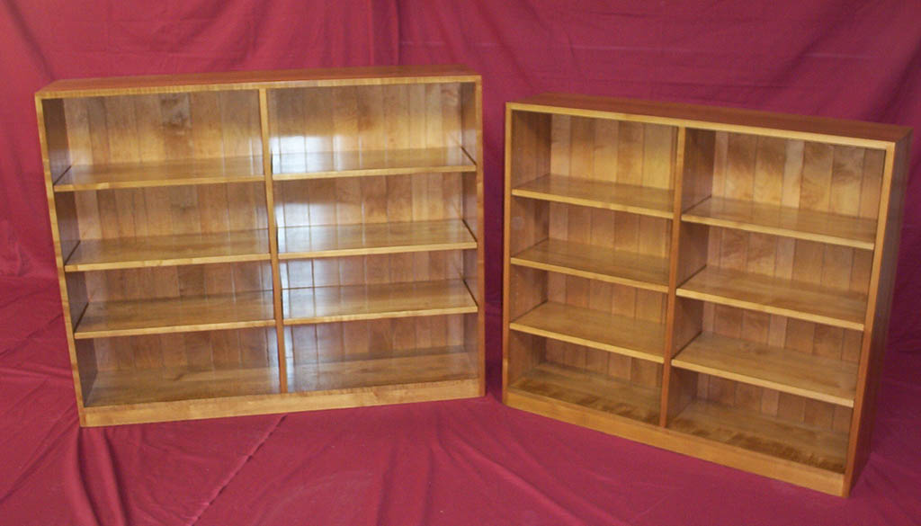 Solid Birch Custom Bookshelves