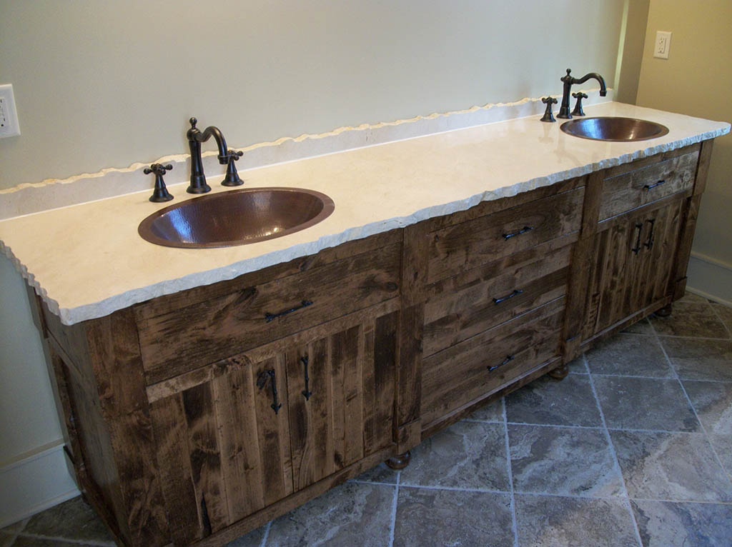 Custom Handcrafted Bathroom Cabinets And Furniture Healthycabinetmakers Com