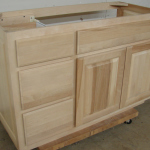 Square Raised Panel Vanity