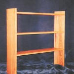 Solid American Red Oak Bookshelf