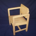 Bailey Slat Chair with Swivel back