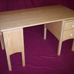 Solid Ash Writers Desk