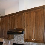 Cabinets and Stove Exaust Fan and Light