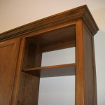 Close Up of Open Cabinet