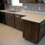 Sink, Counter, Backsplash and Cabinets