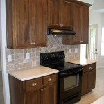 Stove Area Cabinets