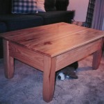 Solid Knotty Hickory Coffee Table