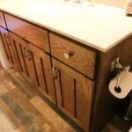Manning Custom Red Oak Guest Vanity