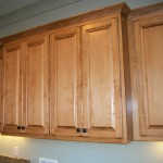 Maple Utility Room Cabinets
