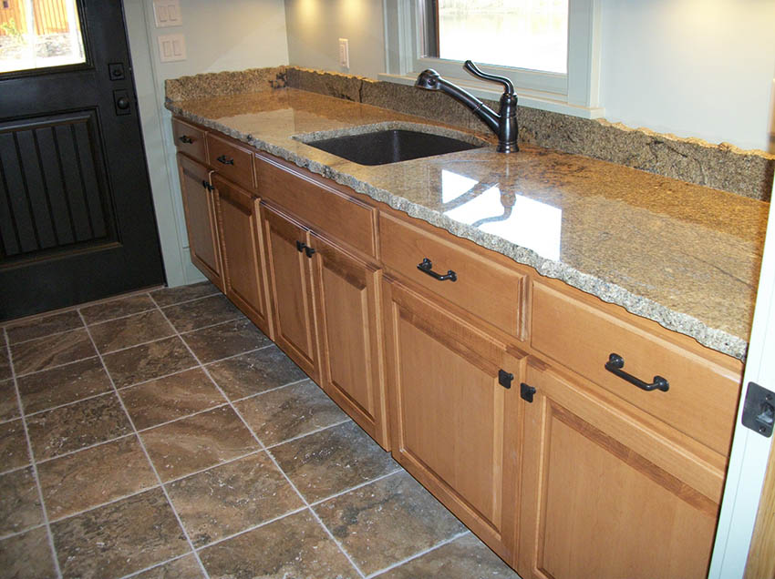 Granite Laundry Sink : Laundry & Utility Room