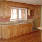 Mattingly Kitchen - Solid Knotty Alder Wood - Buffet Area