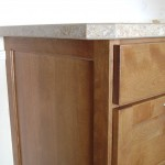 McCanless Kitchen - Cabinet End and Countertop