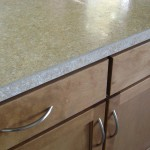 McCanless Kitchen - Counter top with Solid Surfce Edging