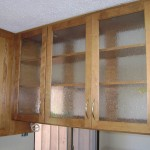 McCanless Kitchen - Glass Upper Cabinet (other side)