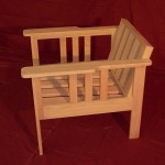 Mission Style Chair Natural