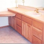 Solid Oak Hardwood Square Raised Panel Vanity