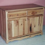 Solid American Knotty Hickory Buffet