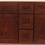 Neyendorf Solid Red Oak Vanity