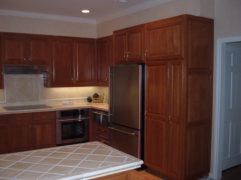 Monarch pape kitchen for Built in kitchen cabinets