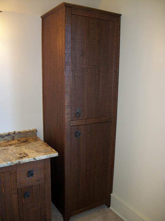 custom handcrafted bathroom cabinets and furniture