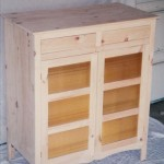Bailey - Solid Knotty Hardwood Pie Safe