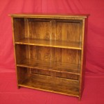 Shaker Style Solid Maple Bookcase