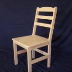 Reindl - Solid Maple Shaker Style Ladder Back Chair
