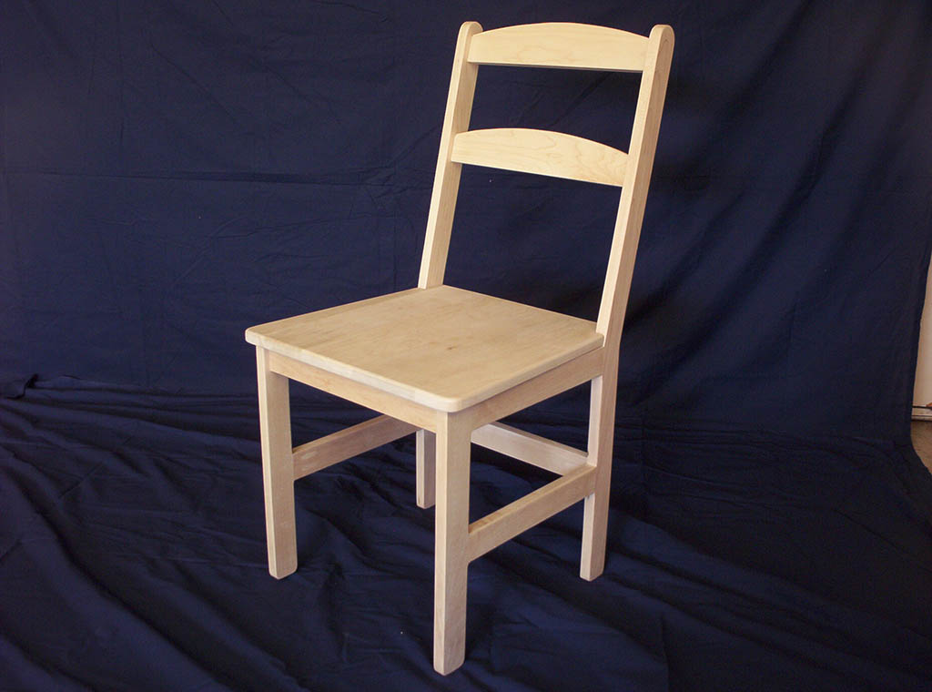Reindl Solid Maple Shaker Style Arched Back Chair