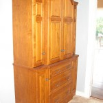 Solid Maple Armoire