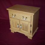 Solid Red Oak Wood Night Stand