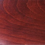Red Mahogany Stain & Finish