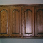 Utility Room - Arched Panel Cabinets