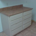Utility Room Drawers and Counter Top