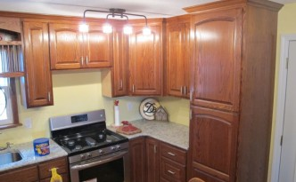 Custom Red Oak Kitchen