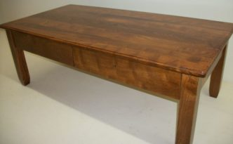 Hackberry Table - Two Drawers