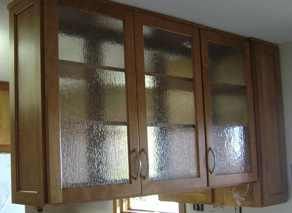 Glass Upper Cabinet Healthycabinetmakers Com