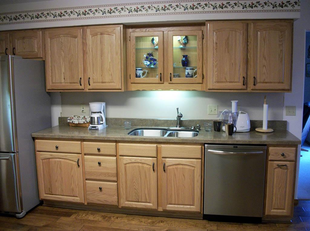 Smith Kitchen Solid Red Oak Hardwood